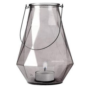 5d-1725-118-7-Glass-Bottle-Grey-W-Black-Handle-27x27x36.5cm..jpg