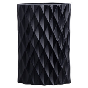 5v-1099-533-9-Diamond-Chisel-Oval-Matt-Black-Vase-34cm.jpg