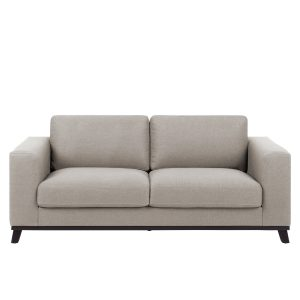 SI 1739 297 10 – Canberra 2S Sofa Metro Sand, Black Stained Wood (1)