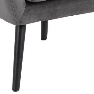 RI 1739 173 11 – Astro Resting Chair VIC Dark Grey, Rubber Wood Leg Black (4)